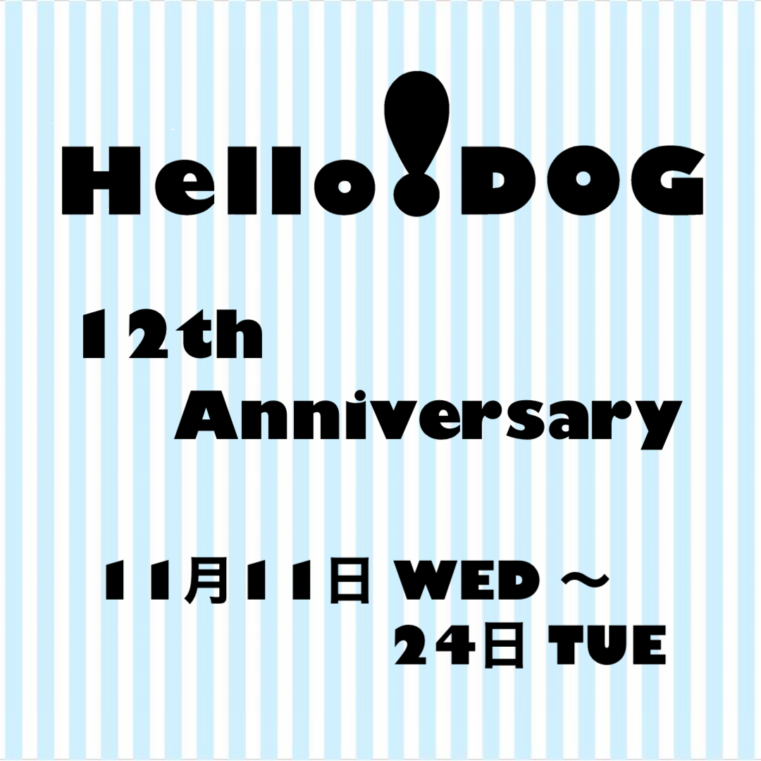 2020/11/11-24 阪急ハロードッグ12周年 フード・おやつセット